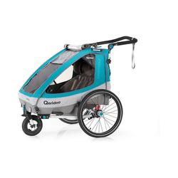 Qeridoo Fahrradkindersitz Sportrex2 2020 Petrol