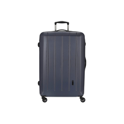 CHECK.IN® Trolley Cork 4-Rollen-Trolley 75 cm, 4 Rollen blau