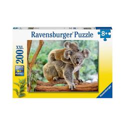 Ravensburger Puzzle XXL-Puzzle Koalafamilie, 200 Teile, Puzzleteile