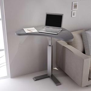 Moderner Laptoptisch in Beton Grau höhenverstellbar
