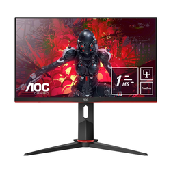 AOC FHD-Monitor 60,4 cm (24 Zoll) 1920x1080 16:9 1ms(MPRT) 24G2U5/BK