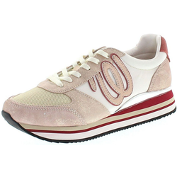 Wrangler JUNGLE Damen Low-Top Sneaker Rosa Sneaker 36 EU