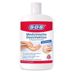 SOS MEDIZINISCHE Desinfektion Hände/Haut 150 ml