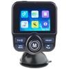 DAB+/DAB-Empfänger, FM-Transmitter, Bluetooth, Freisprecher, MP3, USB
