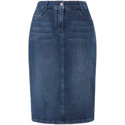 Jeansrock mit 5-Pockets Basler blue denim