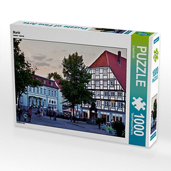 Markt Lege-Größe 64 x 48 cm Foto-Puzzle Bild von U boeTtchEr Puzzle