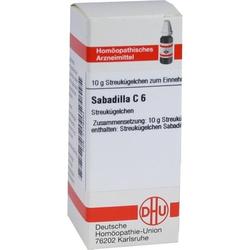 SABADILLA C 6 Globuli 10 g