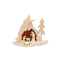 SIGRO Krippenfigur Holz Krippe Heilige Familie