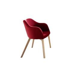 Standard Furniture Factory Sessel Theo in kaminrot