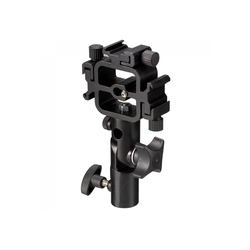 BRESSER Kamerablitzhalter JM-74 3in1 Coldshoe Kamerablitzhalter