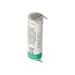 Saft Saft LS14500 AA Ltihium Batterie 3,6 Volt mit Prin Batterie