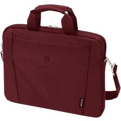 Dicota Notebook Tasche Tasche / Notebook / Slim Case BASE / Passend für maximal: 35,8cm (14,1 ) Rot