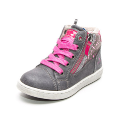 TOM TAILOR Girls Sneakerstiefel Glitzer coal
