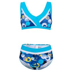 Bikini Maritim Türkis/Royalblau