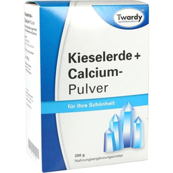 Kieselerde + Calcium-Pulver