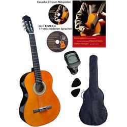 Clifton Konzertgitarre Clifton - Konzertgitarre ½ 1/2, Komplettset