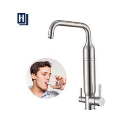 Wasserfilter Wasserhahn Edelstahl Wasserhahn Küche Armatur Kalkfilter Filter für Armatur