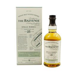 Balvenie 25 YO Single Barrel Whisky 0,7L (47,8% Vol.)