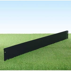 GartenAZ Rasenkante aus Metall - 5505 - Stahlblech feuerverzinkt und pulverbeschichtet, anthrazit - 103 x 13 cm, Nutzlänge 100 cm