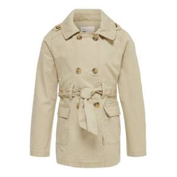 ONLY Klassischer Trenchcoat Damen Beige Female 116