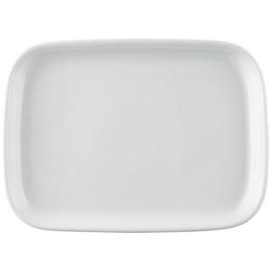 Thomas Porzellan Servierplatte Trend Weiß Platte 33 cm, Porzellan, (1-tlg)
