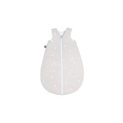 Julius Zoellner Sommerschlafsack in beige mit Muster Star beige, 50 cm