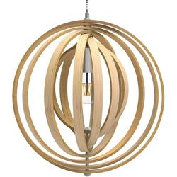Tomons LED Pendelleuchte Pendelleuchte Holz im Mobilé-Stil, Hängeleuchte, für Restaurants, Bars und Ihr Zuhause