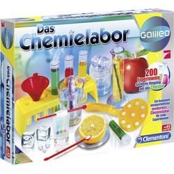 Clementoni Galileo - Das Chemielabor 69272.9 Experimentier-Box ab 8 Jahre