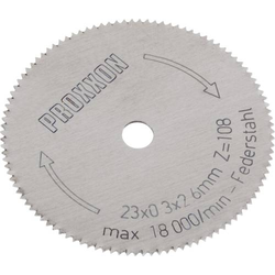 Proxxon Micromot 28 652 Kreissägeblatt 23 x 2.6 x 0.1mm 1St.