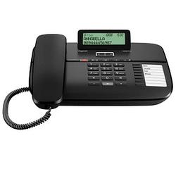 Gigaset DA810A Telefon mit Anrufbeantworter schwarz