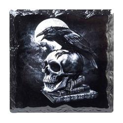 Alchemy Gothic Getränkeuntersetzer Untersetzer Poe's Raven