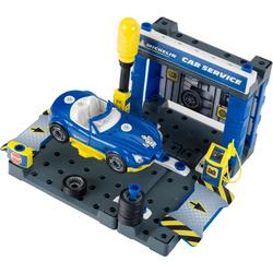 Klein Spiel-Gebäude Michelin Service Station, inklusive Spielzeugauto blau Kinder Zubehör für Spielzeugautos Autos, Eisenbahn Modellbau