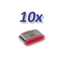 ROLINE 10x USB-C Schloss für 11.02.8333 Adapter