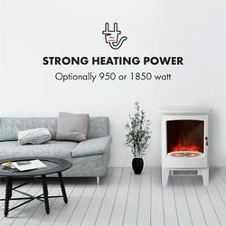 Meran Elektrischer Kamin 950/1850W InstaFire dimmbar weiß