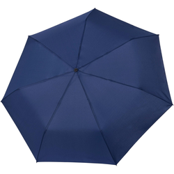 Tamaris Taschenregenschirm Tambrella, blue, mit Metallic-Elementen am Schirmdach