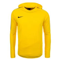 NIKE Herren Sweatshirt 'Dry Academy 18' neongelb / schwarz