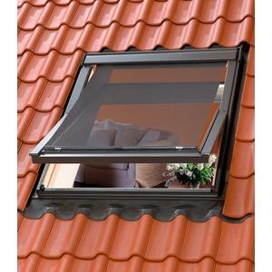 VELUX Hitzeschutzmarkise für verschiedene Velux Dachfenstergrößen schwarz MK04/MK06/MK08/M04/M06/M08/M10/304/306/308/310