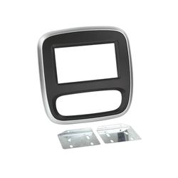 2-DIN RB Renault Trafic / Opel Vivaro 2014-> schwarz/silber