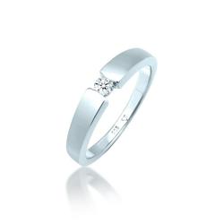 Diamore Diamantring Verlobungsring Diamant (0.10 ct) 585 Weißgold, Verlobungsring 54