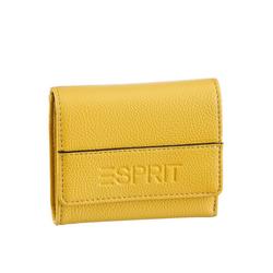 Esprit Geldbörse, im praktischem Format gelb