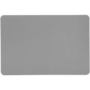 Kesper Platzset, Tischset Lederoptik grau 44x29cm Kunststoff