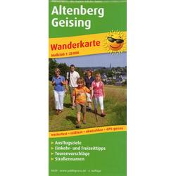 Altenberg - Geising 1:25 000