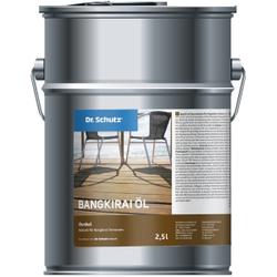 Dr. Schutz®  Terrassenöl Bangkirai, Dunkel, Naturöl für Bangkirai Terrassen, 2,5 l - Dose
