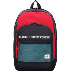 Herschel Kaine Rucksack 49 cm Laptopfach black/red/bachelor button