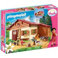 Playmobil Heidi und Großvater auf der Almhütte (70253)