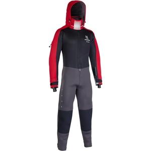 ION Fuse Drysuit 4/3 BZ DL black/red 21 Neoprenanzug Neo warm, Größe: 56|XXL