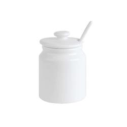 HTI-Living Zuckerdose Zuckerdose mit Löffel Zuckerdose mit Löffel, Porzellan, (1-tlg)