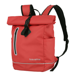 travelite  Basics Roll-Up Rucksack Plane 48 cm 19 l - Rot