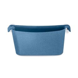 KOZIOL Aufbewahrungsbox Utensilo Boks Organic Deep Blue