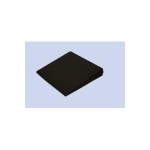 Theraline Sitzkeilkissen Keilkissen inkl. Bezug ca. 40 cm x 38 cm x 7/1 cm, Köper schwarz